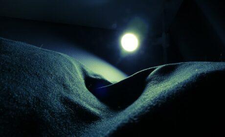 Otulona w aksamit nocy